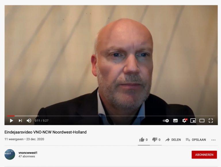 Eindejaarsvideo VNO-NCW Noordwest-Holland