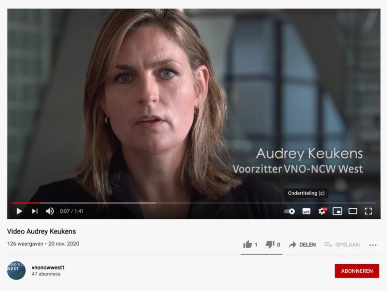 Video Audrey Keukens