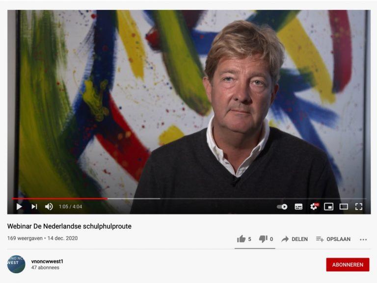 Webinar De Nederlandse schuldhulproute
