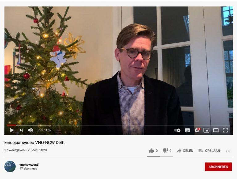 Eindejaarsvideo VNO-NCW Delft