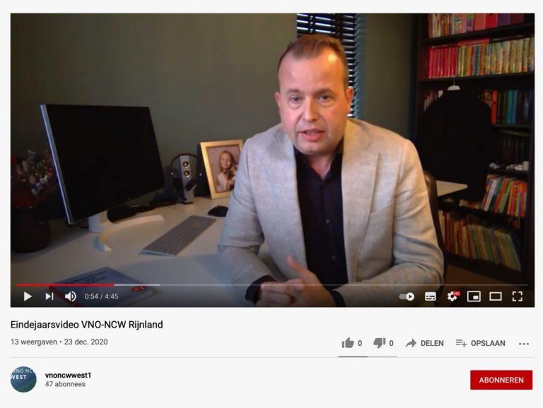 Eindejaarsvideo VNO-NCW Rijnland