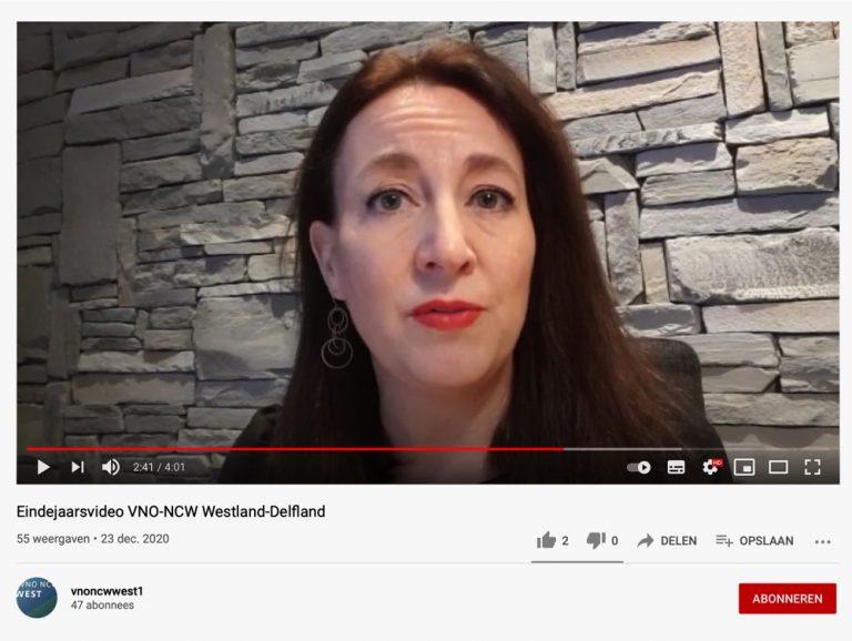 Eindejaarsvideo VNO-NCW Westland-Delfland
